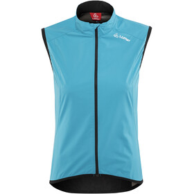 Löffler Windstopper Active Bike Weste Damen topazblue